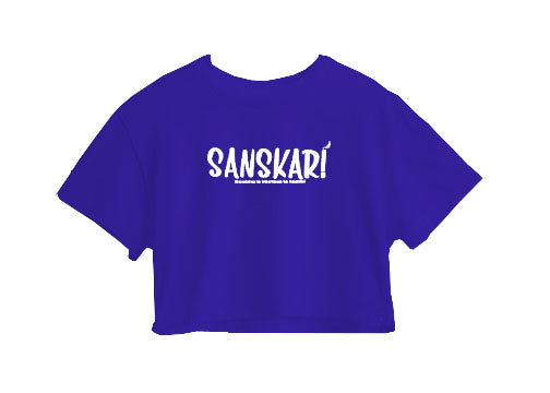 Sanskari Crop Top
