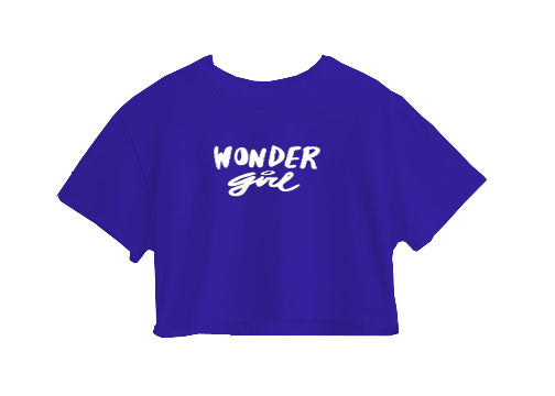 Wonder Girl Crop Top