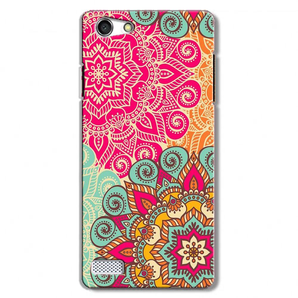 Rangoli art Case for Oppo Neo 7