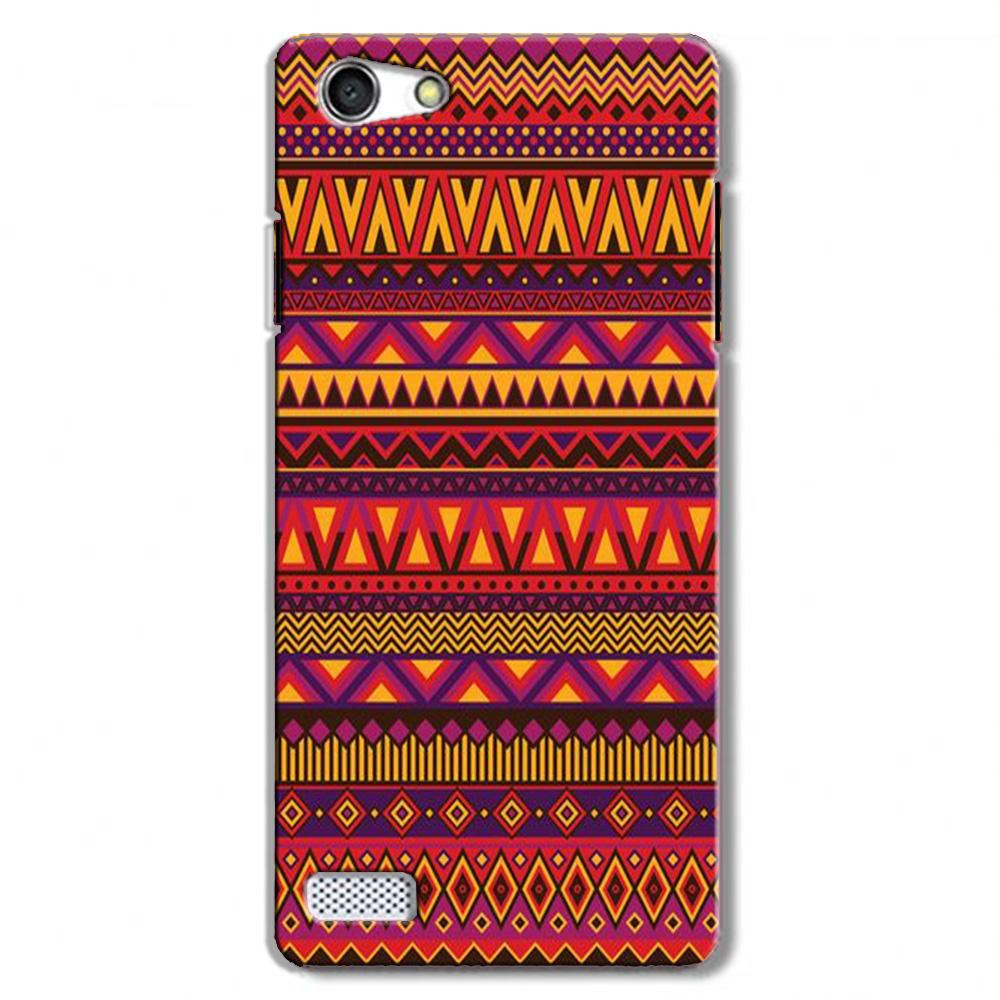 Zigzag line pattern2 Case for Oppo Neo 7