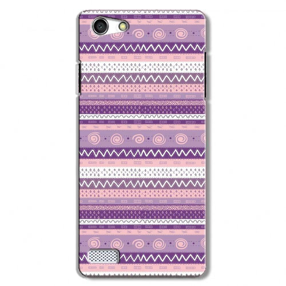 Zigzag line pattern3 Case for Oppo Neo 7