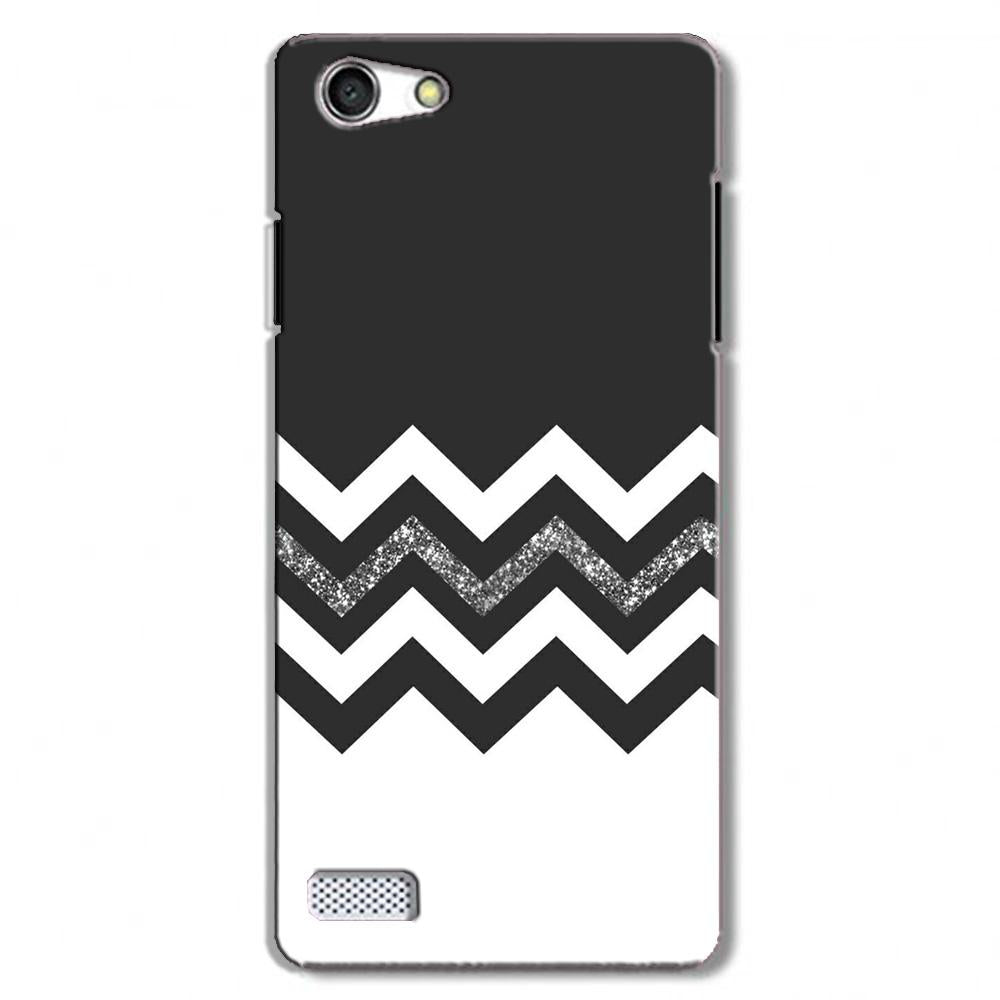 Black white Pattern Case for Oppo Neo 7