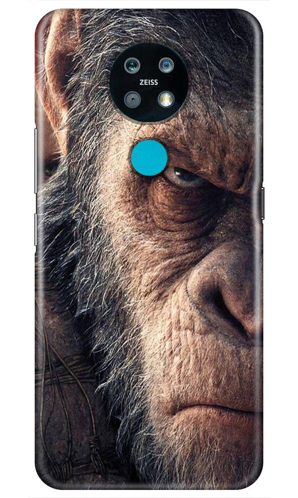 Angry Ape Mobile Back Case for Nokia 7.2 (Design - 316)
