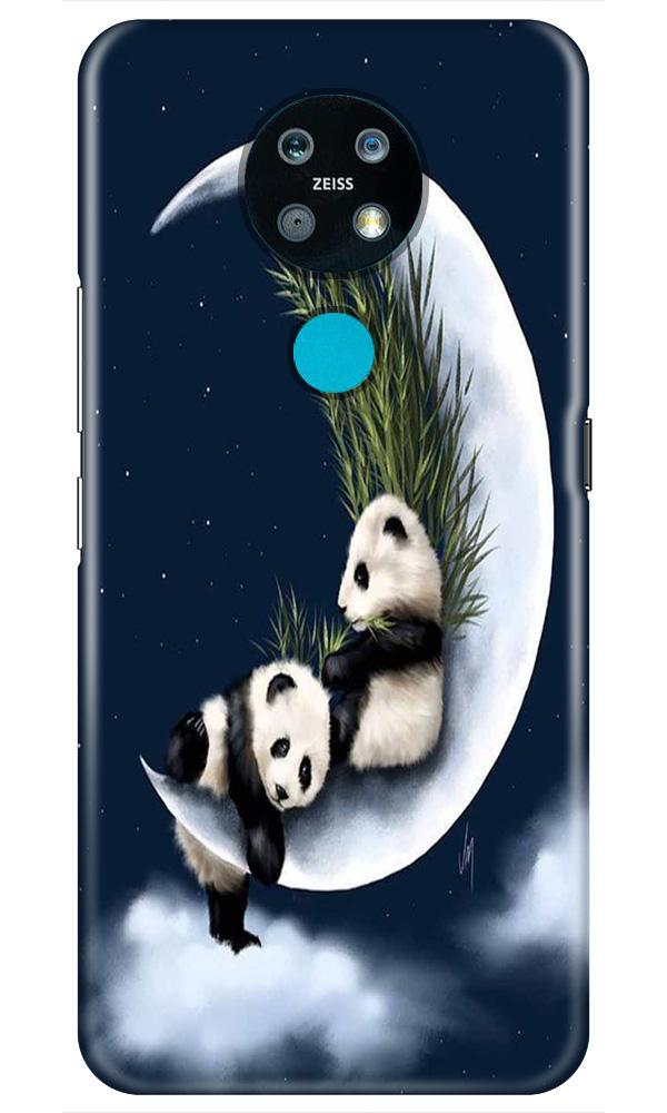 Panda Moon Mobile Back Case for Nokia 7.2 (Design - 318)