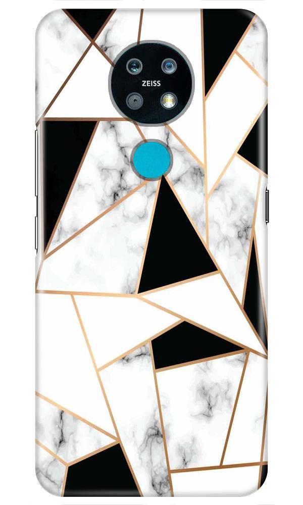 Marble Texture Mobile Back Case for Nokia 7.2 (Design - 322)