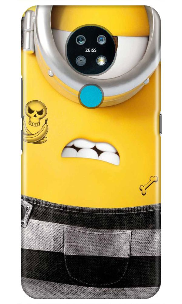 Minion Mobile Back Case for Nokia 7.2 (Design - 324)