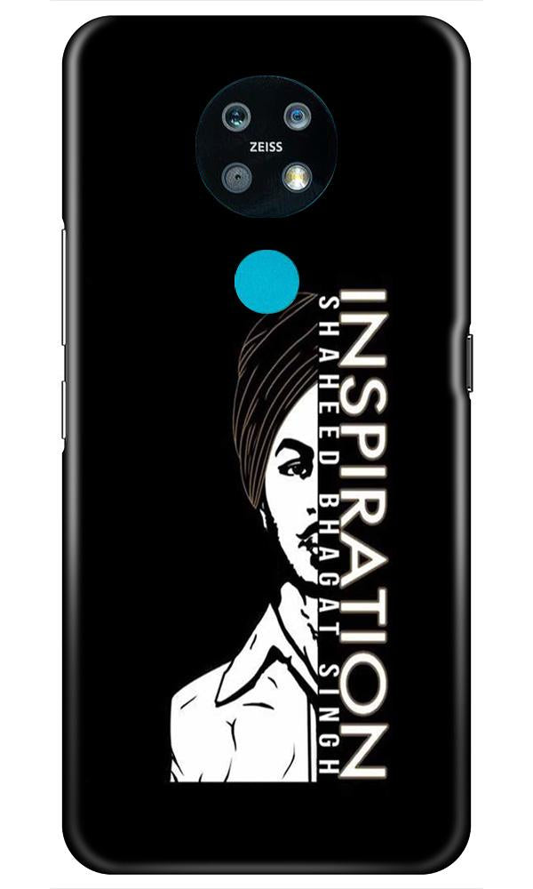 Bhagat Singh Mobile Back Case for Nokia 7.2 (Design - 329)