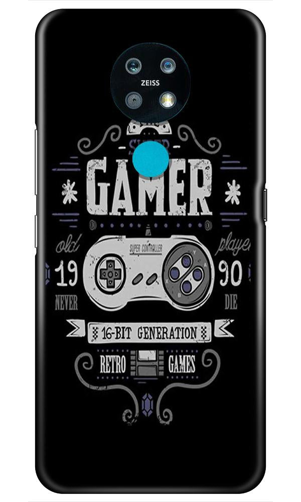 Gamer Mobile Back Case for Nokia 7.2 (Design - 330)
