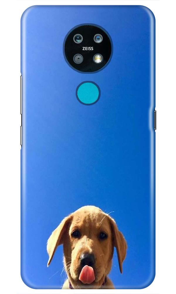 Dog Mobile Back Case for Nokia 7.2 (Design - 332)