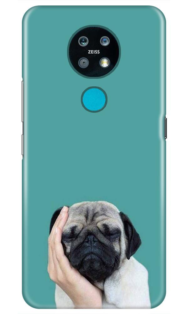 Puppy Mobile Back Case for Nokia 7.2 (Design - 333)