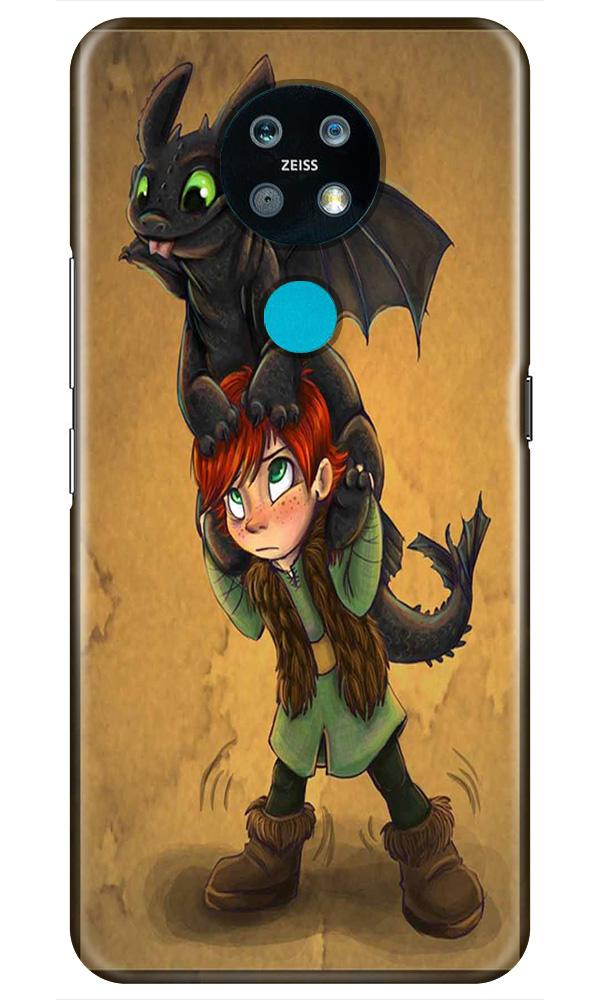 Dragon Mobile Back Case for Nokia 7.2 (Design - 336)
