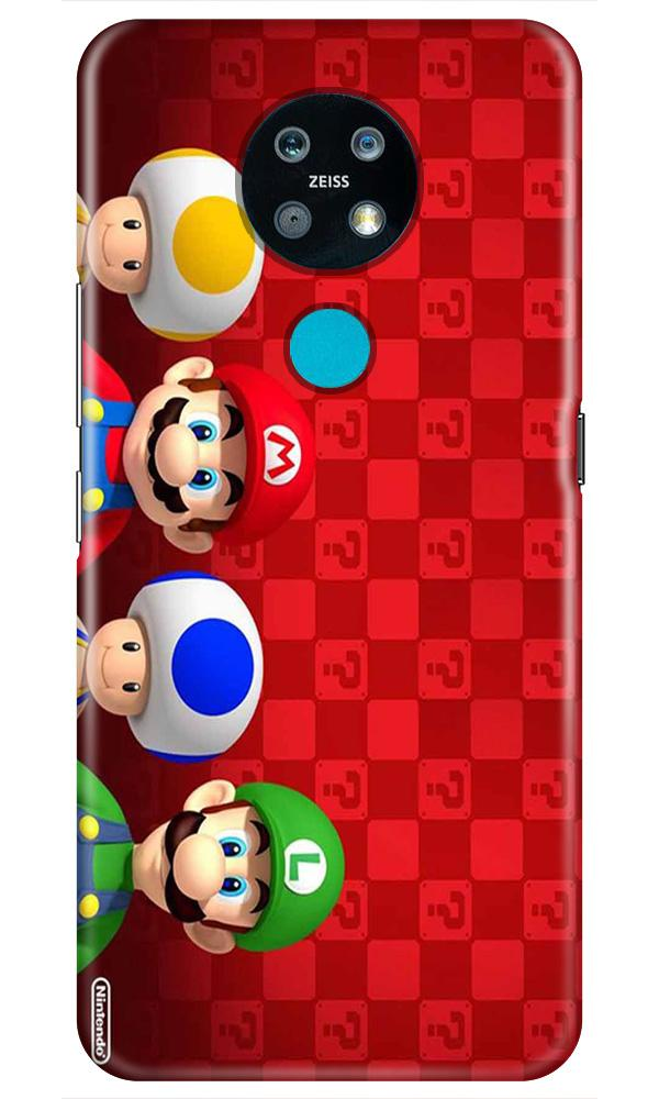 Mario Mobile Back Case for Nokia 7.2 (Design - 337)
