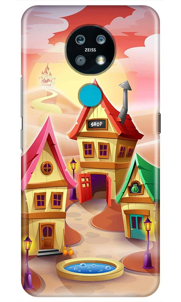 Sweet Home Mobile Back Case for Nokia 7.2 (Design - 338)