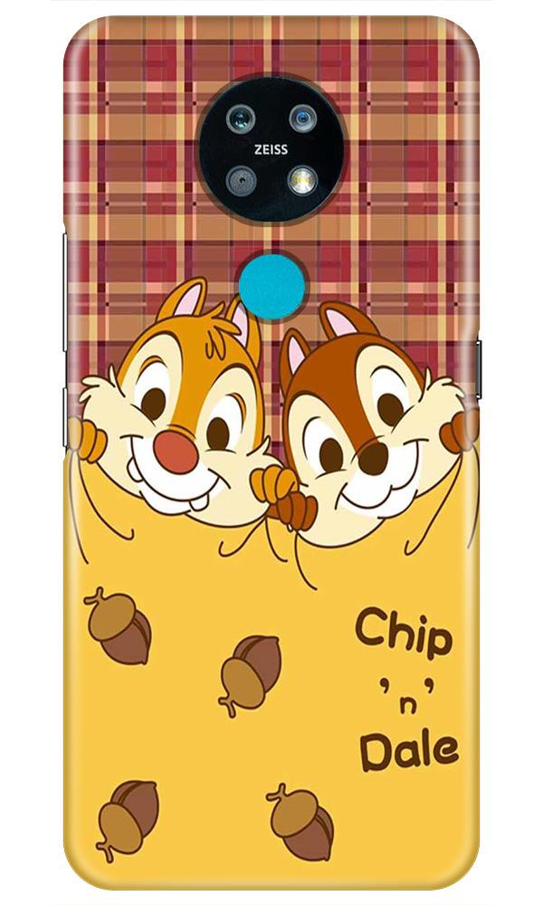 Chip n Dale Mobile Back Case for Nokia 7.2 (Design - 342)