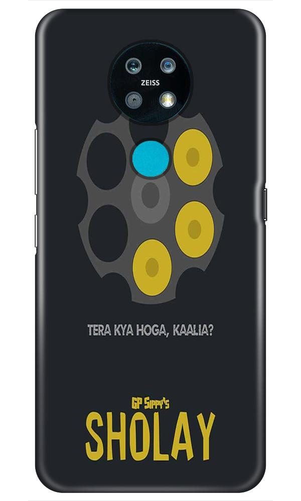 Sholay Mobile Back Case for Nokia 7.2 (Design - 356)