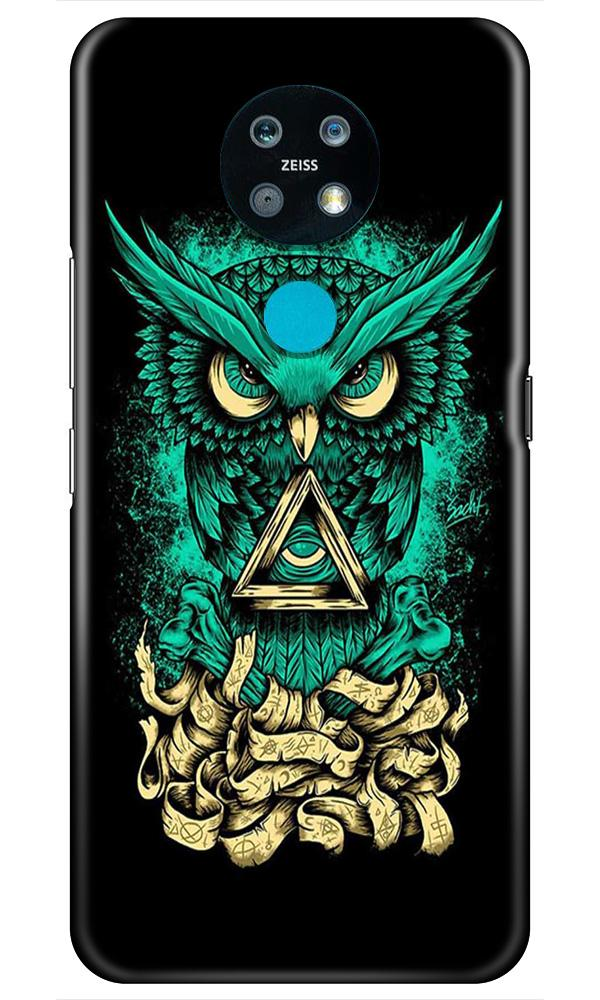 Owl Mobile Back Case for Nokia 7.2 (Design - 358)
