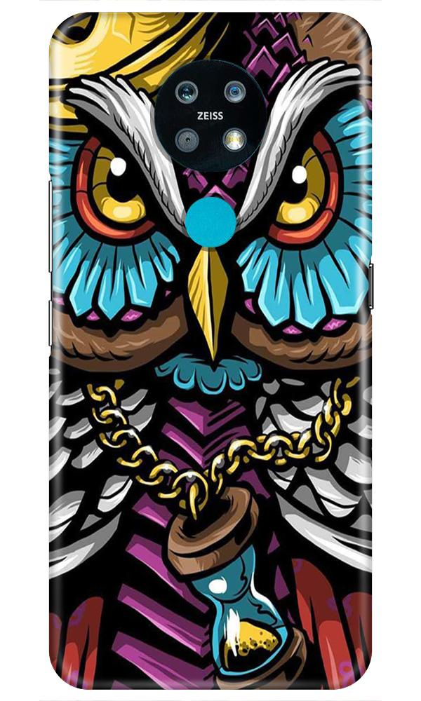 Owl Mobile Back Case for Nokia 7.2 (Design - 359)