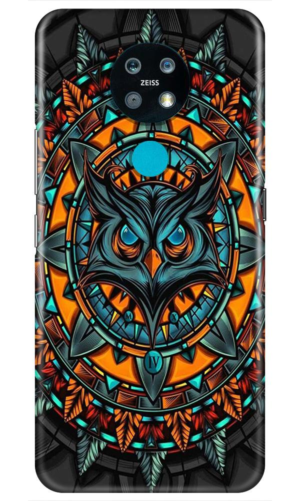 Owl Mobile Back Case for Nokia 7.2 (Design - 360)