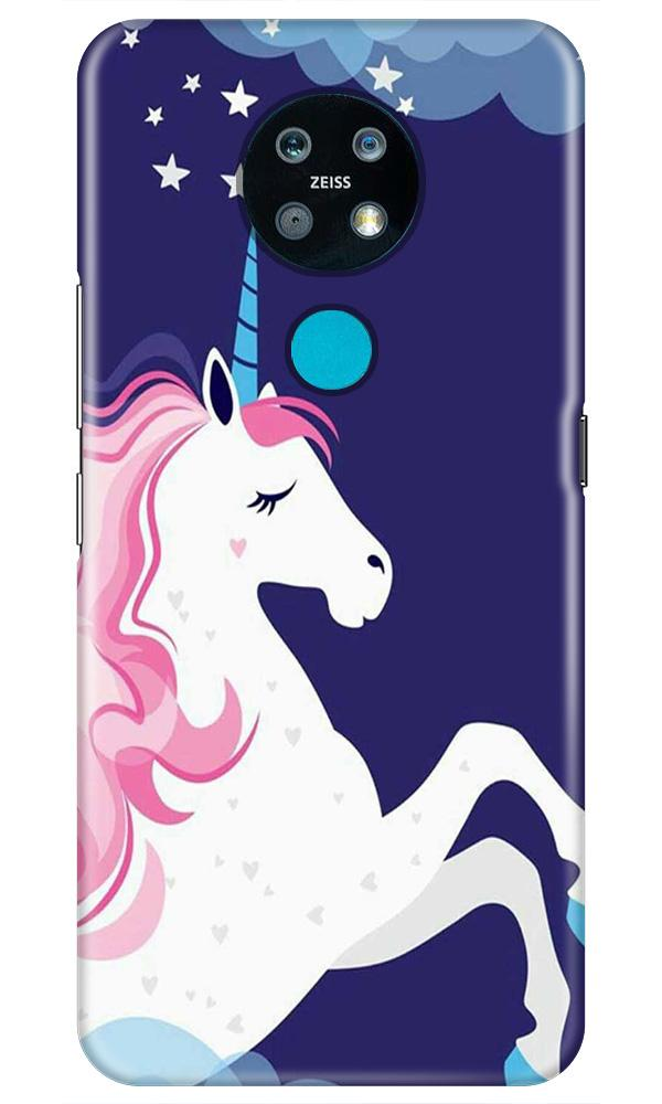 Unicorn Mobile Back Case for Nokia 7.2 (Design - 365)