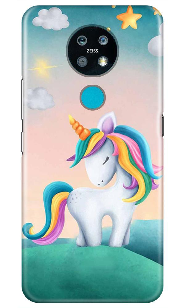 Unicorn Mobile Back Case for Nokia 7.2 (Design - 366)