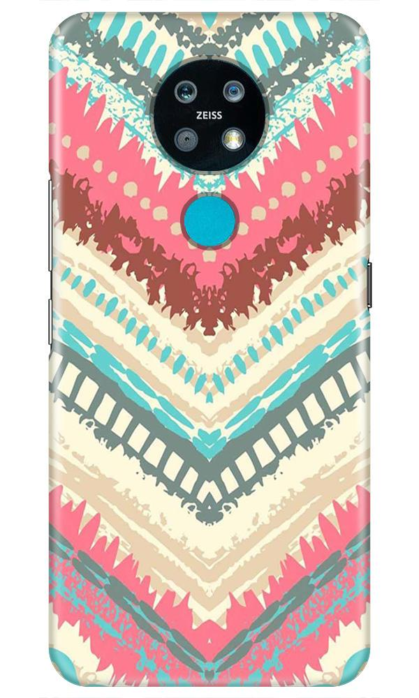 Pattern Mobile Back Case for Nokia 7.2 (Design - 368)
