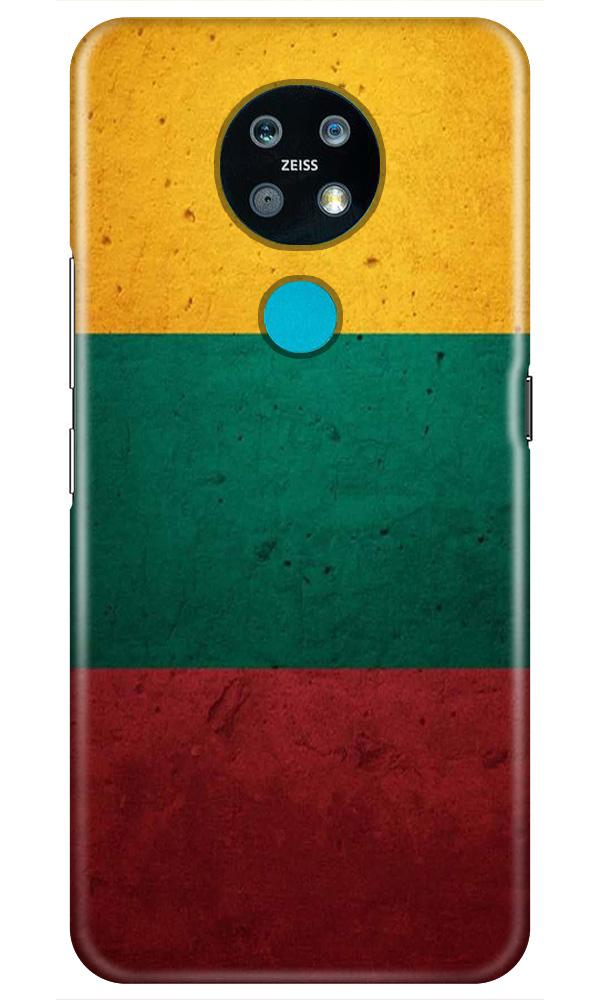 Color Pattern Mobile Back Case for Nokia 7.2 (Design - 374)