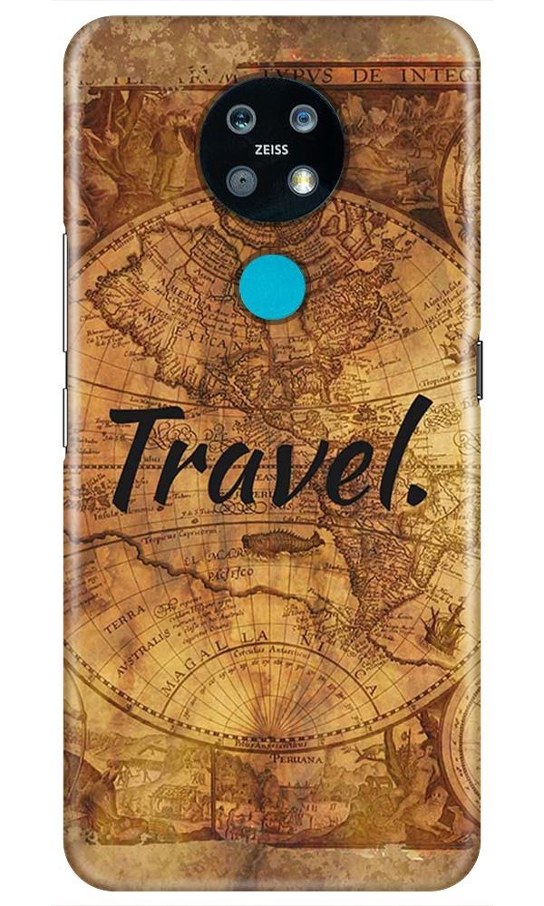 Travel Mobile Back Case for Nokia 7.2 (Design - 375)