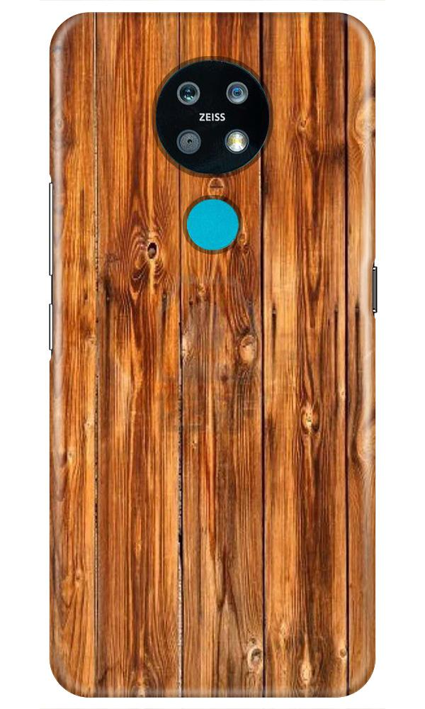 Wooden Texture Mobile Back Case for Nokia 7.2 (Design - 376)