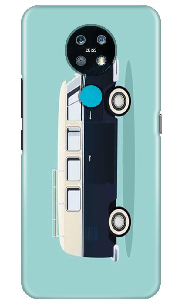 Travel Bus Mobile Back Case for Nokia 7.2 (Design - 379)