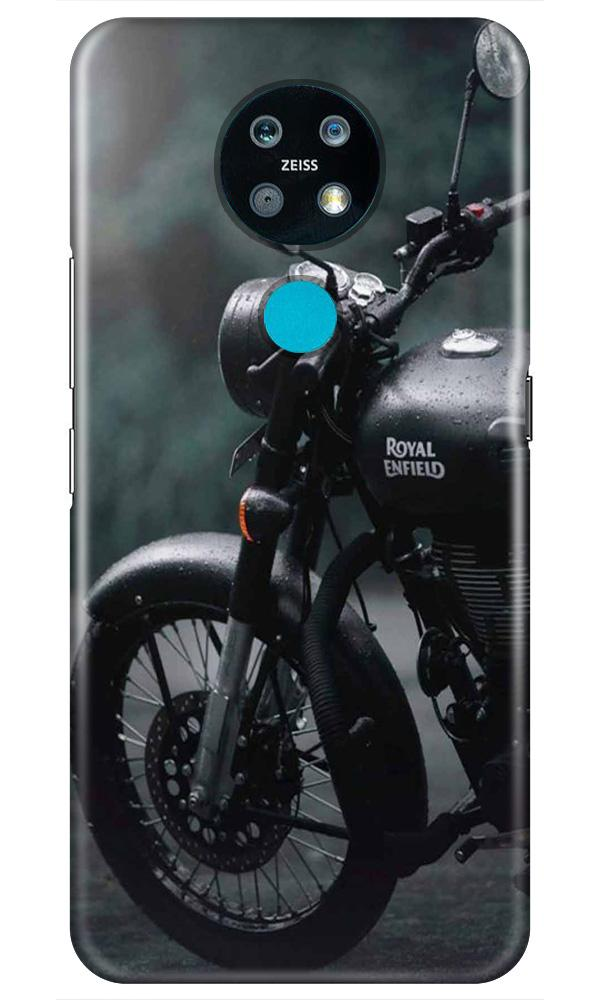 Royal Enfield Mobile Back Case for Nokia 7.2 (Design - 380)