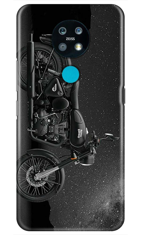 Royal Enfield Mobile Back Case for Nokia 7.2 (Design - 381)