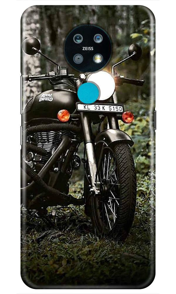Royal Enfield Mobile Back Case for Nokia 7.2 (Design - 384)