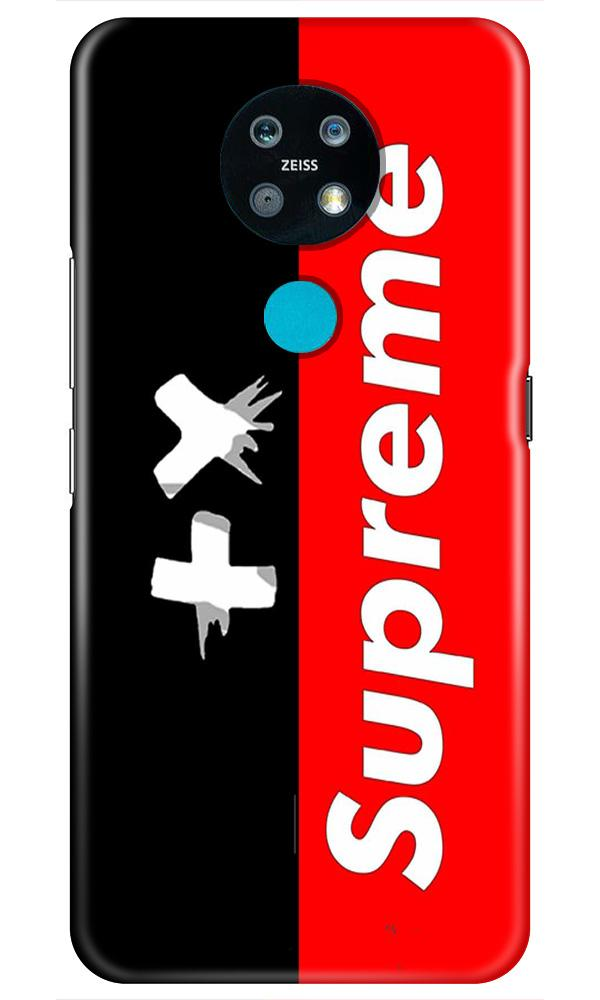 Supreme Mobile Back Case for Nokia 7.2 (Design - 389)