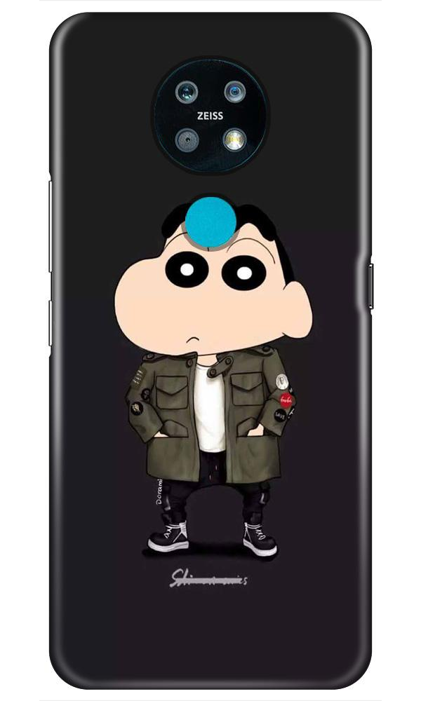 Shin Chan Mobile Back Case for Nokia 7.2 (Design - 391)