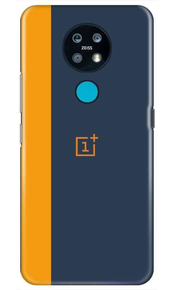 Oneplus Logo Mobile Back Case for Nokia 7.2 (Design - 395)