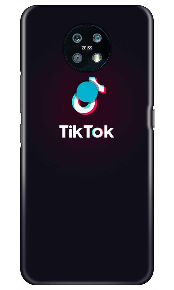 Tiktok Mobile Back Case for Nokia 7.2 (Design - 396)