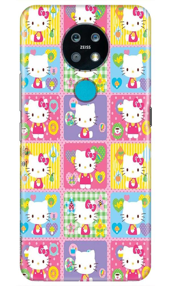 Kitty Mobile Back Case for Nokia 7.2 (Design - 400)