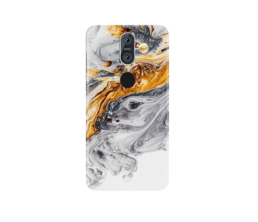 Marble Texture Mobile Back Case for Nokia 8.1 (Design - 310)