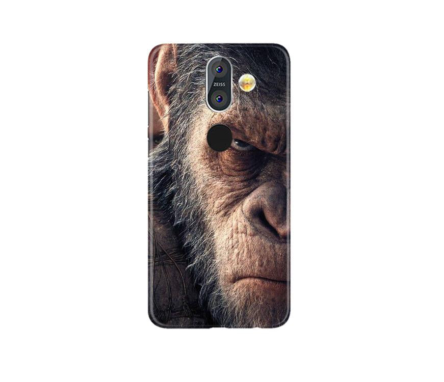 Angry Ape Mobile Back Case for Nokia 8.1 (Design - 316)