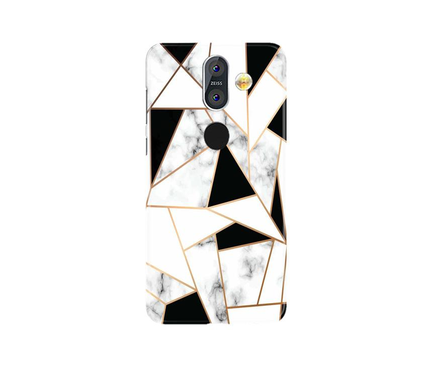 Marble Texture Mobile Back Case for Nokia 8.1 (Design - 322)