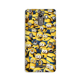 Minions Case for Redmi Note 3  (Design - 126)