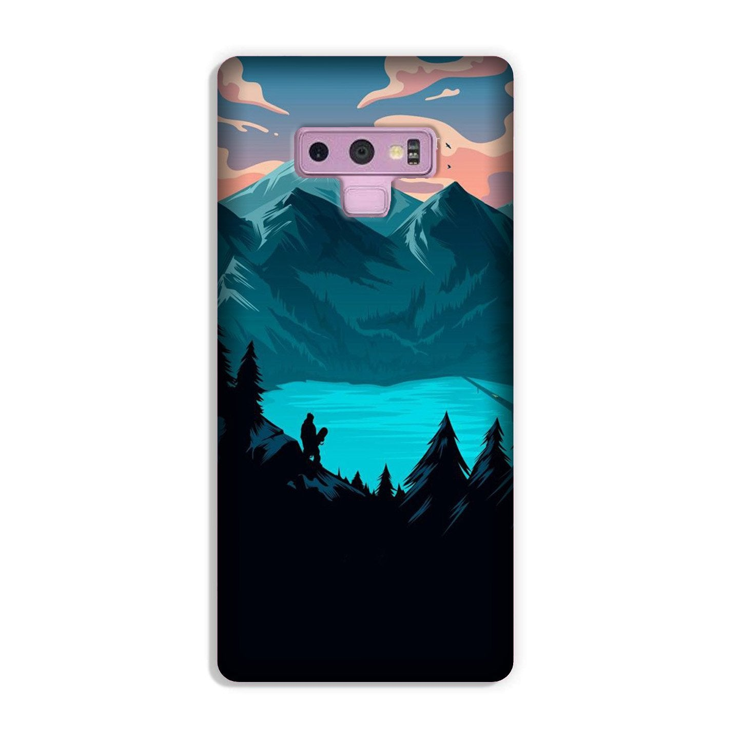 Mountains Case for Galaxy Note 9 (Design - 186)