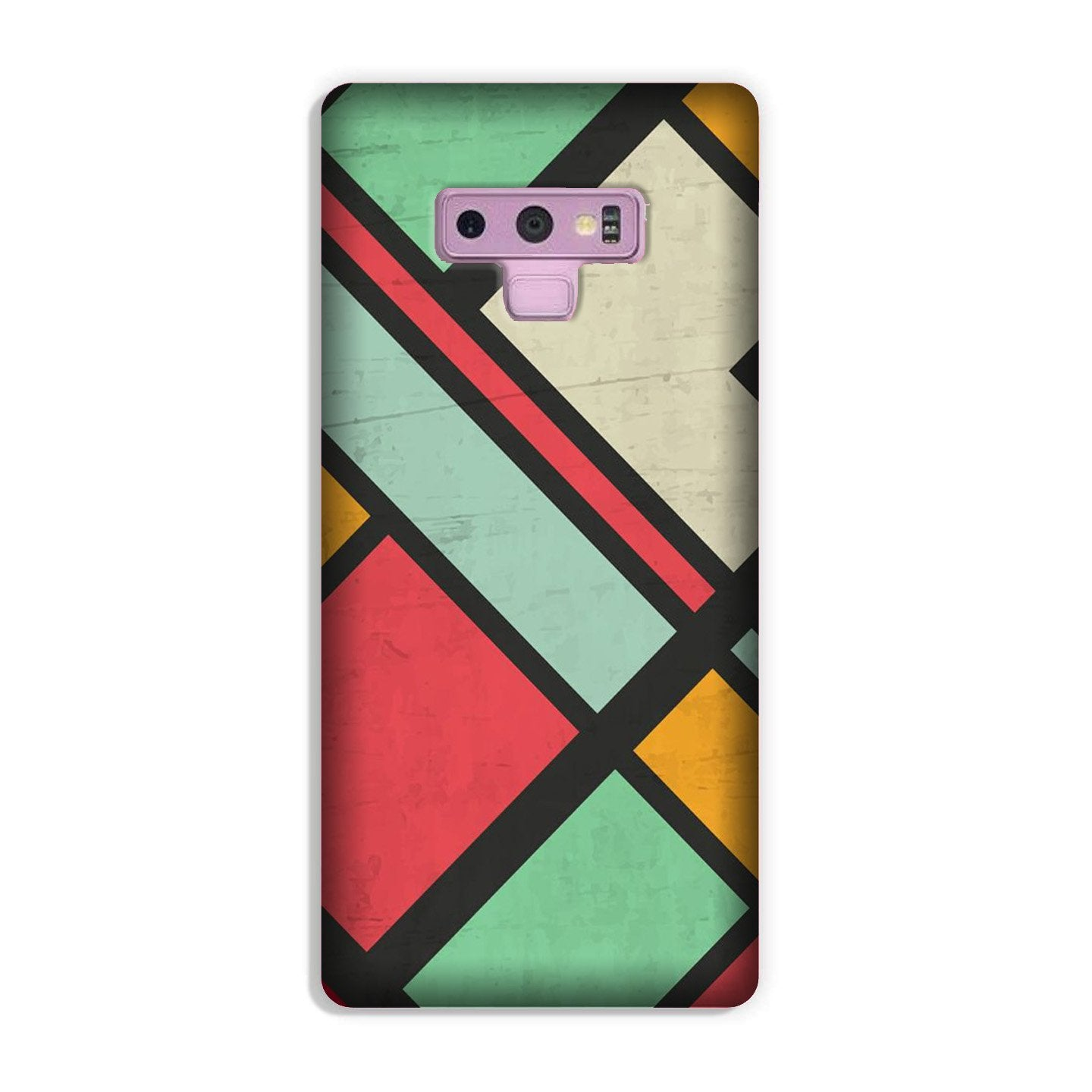 Boxes Case for Galaxy Note 9 (Design - 187)