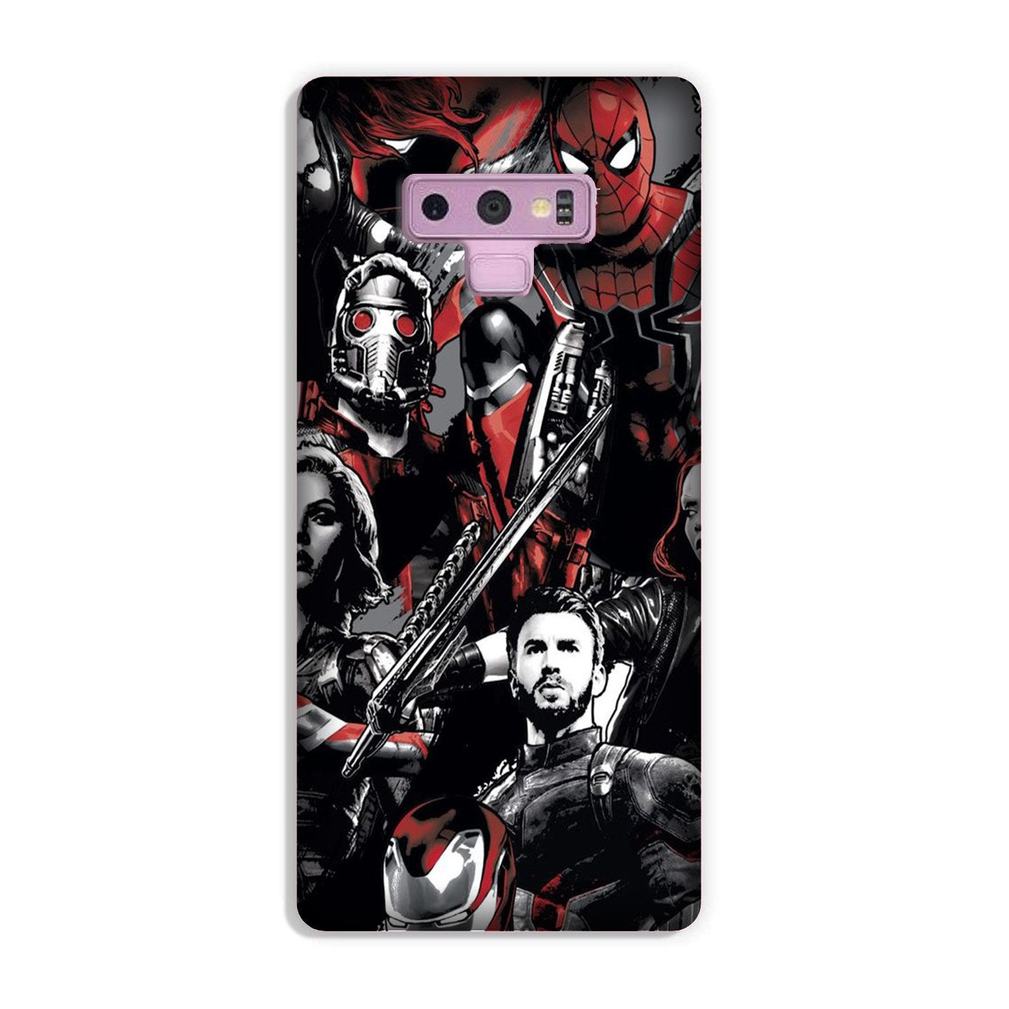 Avengers Case for Galaxy Note 9 (Design - 190)