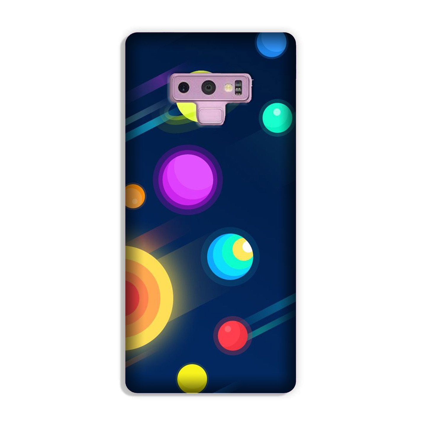 Solar Planet Case for Galaxy Note 9 (Design - 197)