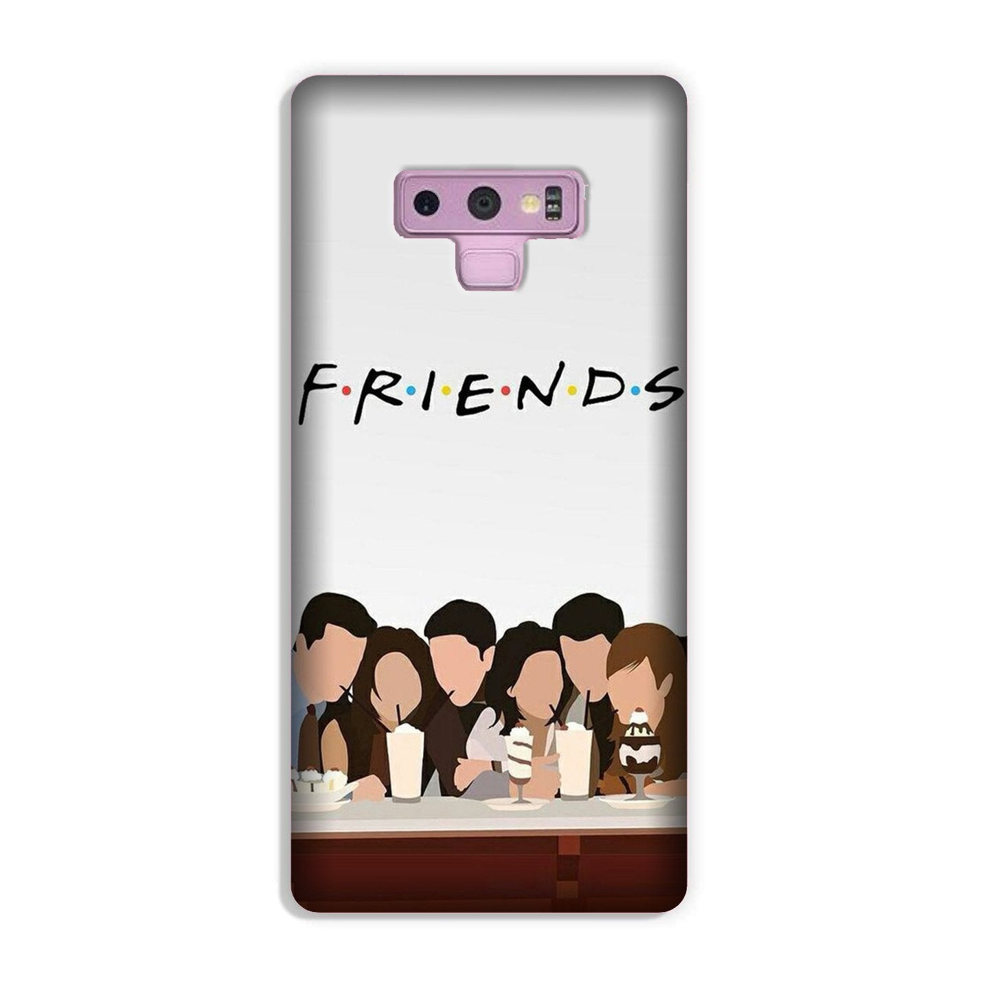 Friends Case for Galaxy Note 9 (Design - 200)