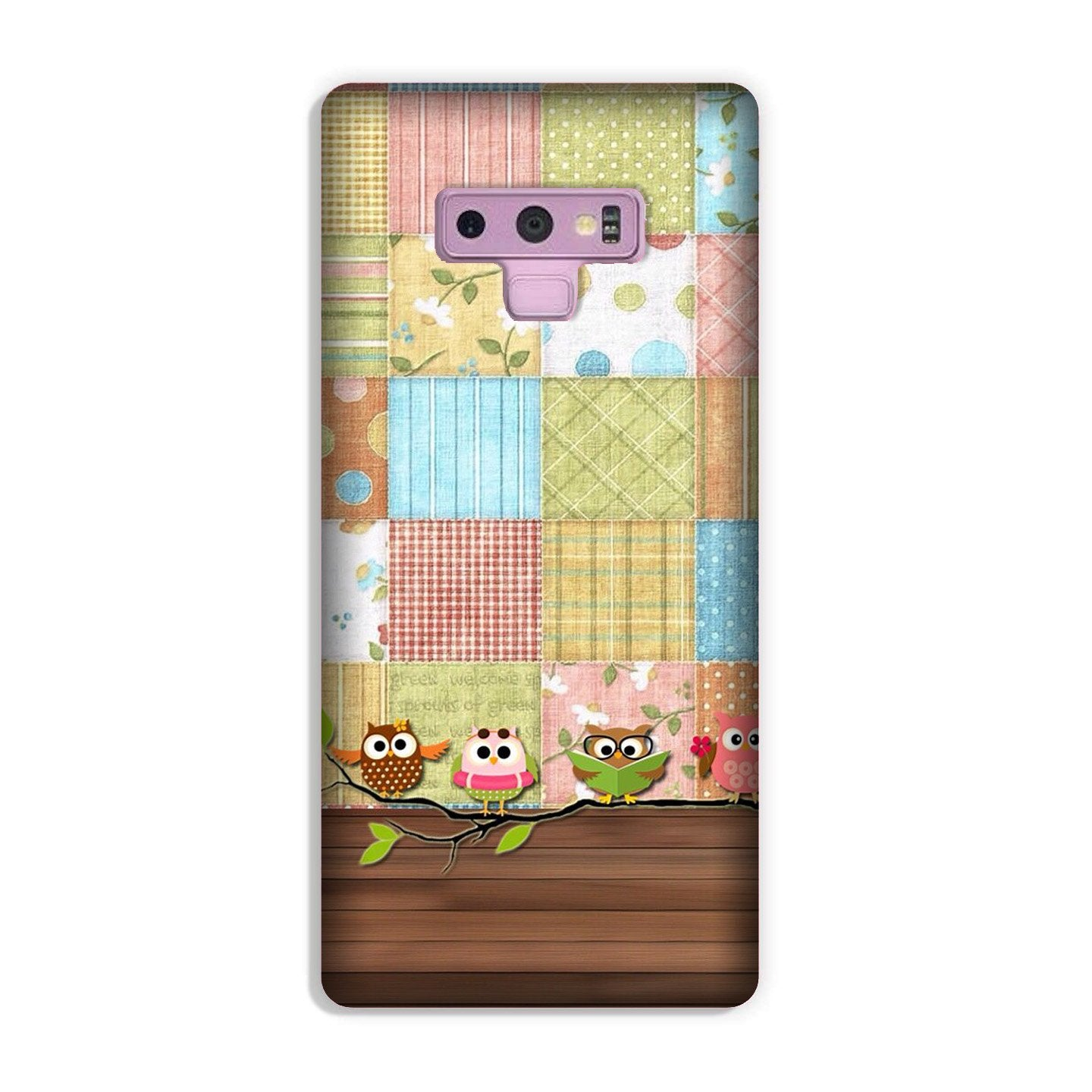 Owls Case for Galaxy Note 9 (Design - 202)