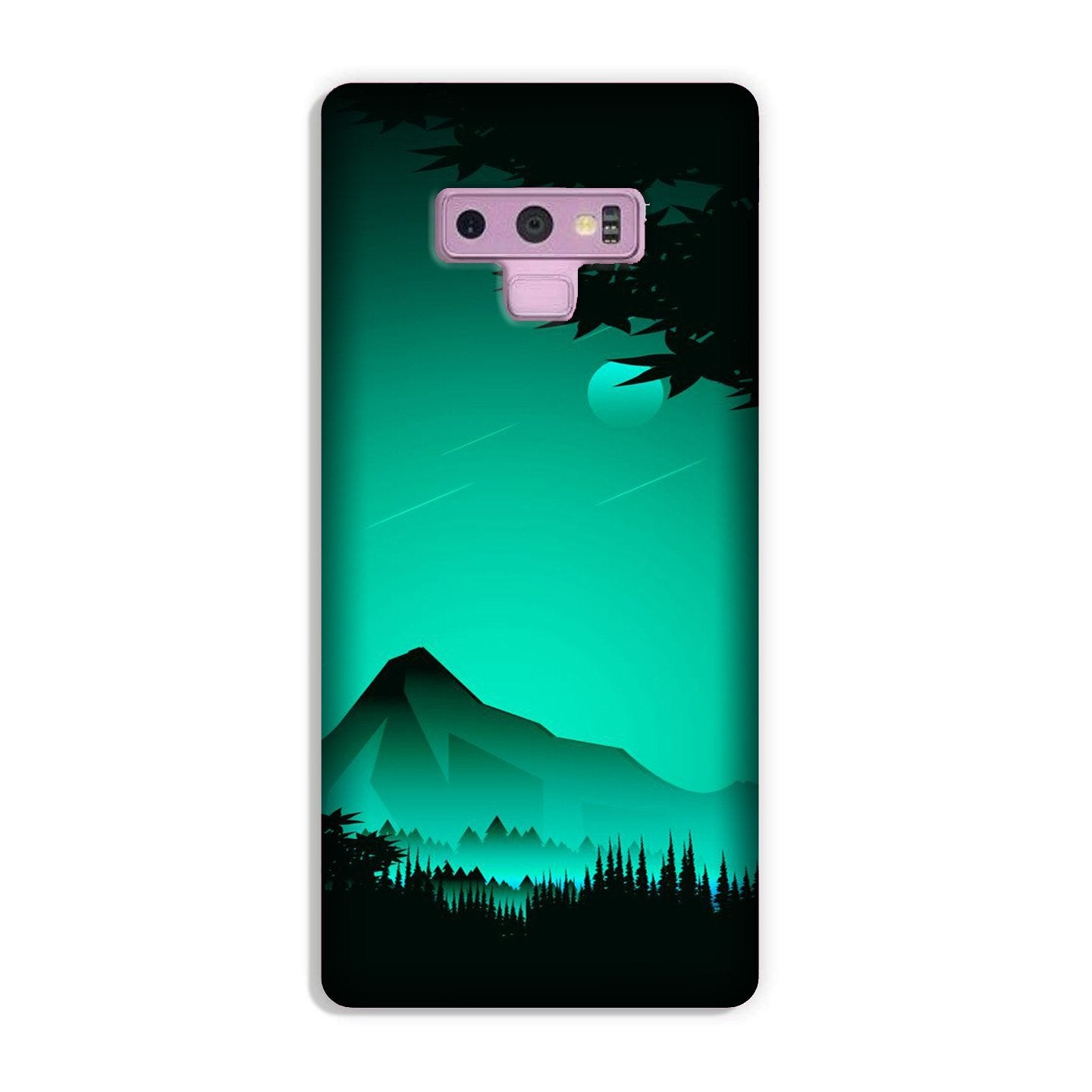 Moon Mountain Case for Galaxy Note 9 (Design - 204)