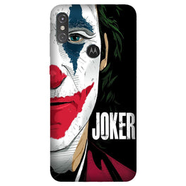 Joker Mobile Back Case for Moto One Power (Design - 301)