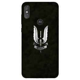 Balidaan Mobile Back Case for Moto One Power (Design - 355)
